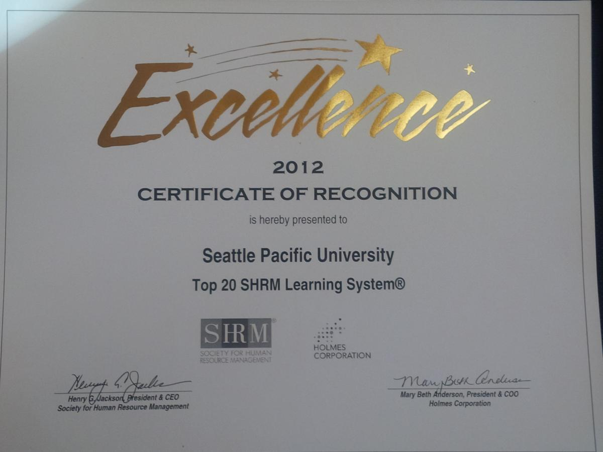 Seattle research partners inc awards testimonials seattle a sample of 10 years of shrm awards 1betcityfo Choice Image