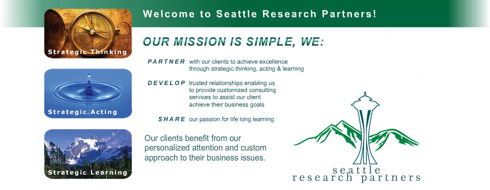 Welcome to Seattle Research Partners!